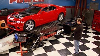 600 Horsepower Twin Turbo 2014 Camaro - Engine Power S2, E1