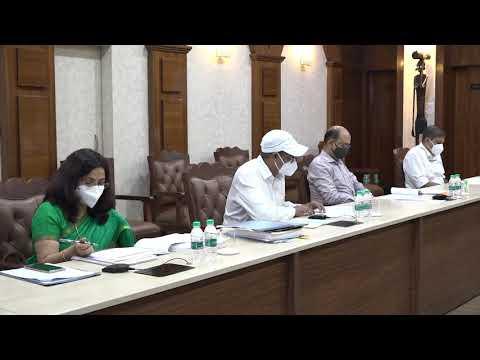 मुख्यमंत्री श्री भूपेश बघेल की अध्यक्षता में आज यहां उनके निवास कार्यालय में छत्तीसगढ़ जनजाति सलाहकार परिषद की बैठक आयोजित की गई : 16-07-2021
