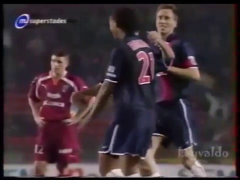 Jay Jay Okocha's assist to Ronaldinho