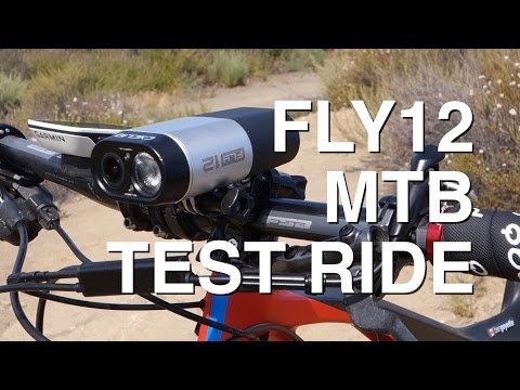 Ben Goyette takes his Fly12 for a MTB Test Ride in Los Angeles CA