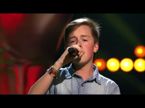 Voice Kids - 13-Year Old Anton Sings Bob Marley's No Woman No Cry - Incredible