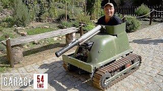 German bathtub tank