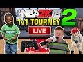 NBA 2K18 LIVE 1 vs 1 Tournament 2 10 29 2017