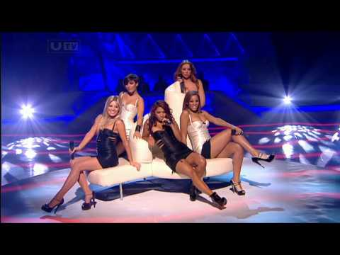 The Saturdays Ego Dancing On Ice 17th Jan 10