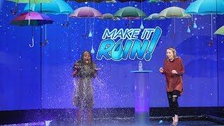 Ellen 'Makes It Rain' $10,000 for a Lucky Fan!