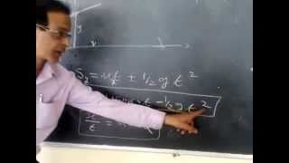 lecture on projectile motion part-1