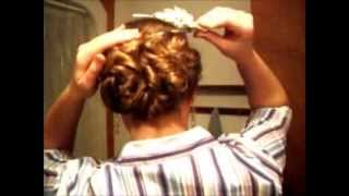 Victorian/Modern Hair Updo Tutorial -for Long And Thick Hair.