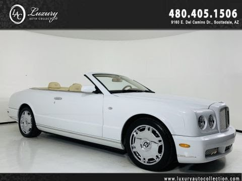 Pre-Owned 2007 Bentley Azure Convertible w/ Collector Miles