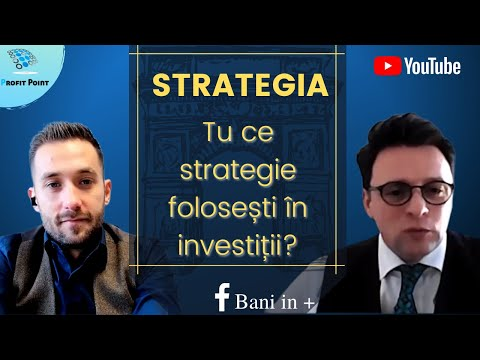 Ce strategie abordezi în investiții? Cel mai important lucru! Ep 1 Educație Financiară 2021