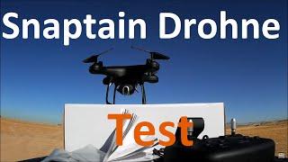 Snaptain Drohne Test: Foto, Video, Reichweite, Flugzeit, Preisvergleich