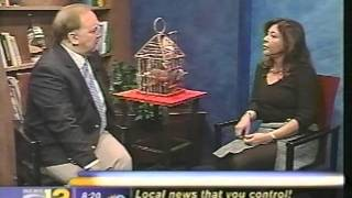 Cecilia Moreno-Yaghoubi on Channel 12 News in Westchester, NY