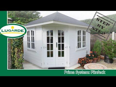 Gartenhaus bauen: Prima Fünfeck   Lugarde