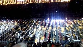Воронежские Кремлёвцы на международном Фестивале Военных духовых оркестров и РПК Спасская башня-2018