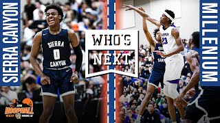 Bronny catches oop, Sierra Canyon TESTED against Millenium (AZ) at Hoophall West!