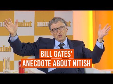 Bill Gates on climate change and Bihar CM Nitish Kumar   Mint Visionaries