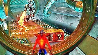 CRASH BANDICOOT REMASTERED Gameplay Sewer or Later Level (N. Sane Trilogy) PS4 2017