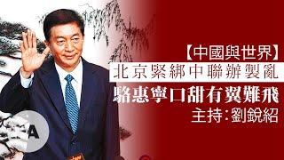 【中國與世界】北京緊綁中聯辦製亂 駱惠寧口甜有翼難飛