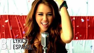 Miley Cyrus   Party In The U.S.A (Lyrics + Español) Video Official