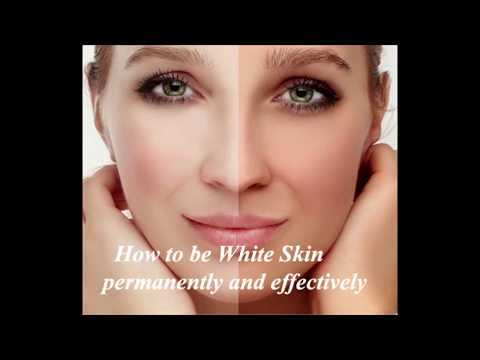 How to be white skin, permanently and effectively, Education