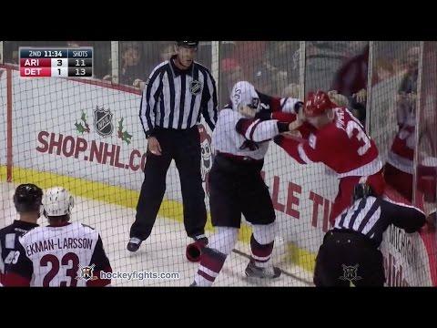 Anthony Mantha vs. Luke Schenn