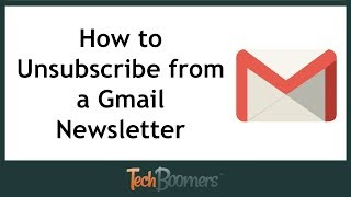 How to Unsubscribe from a Newsletter with Gmail