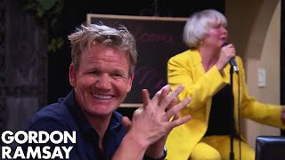 Chef Ramsay Loses It at Dreadful Cher Impersonator | Hotel Hell