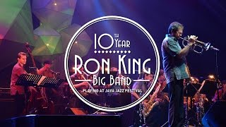 10th Year Ron King Big Band at Java Jazz Festival