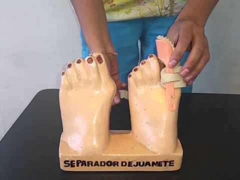 ผ้าพันแผลสำหรับกระดูกนิ้วเท้าขนาดใหญ่