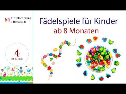 Frühförderung . Kinder fördern. Fädelspiel für kinder ab 8 Monaten. Motoriktraing.
