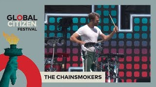 The Chainsmokers Perform 'One' & 'Roses' | Global Citizen Festival NYC 2017