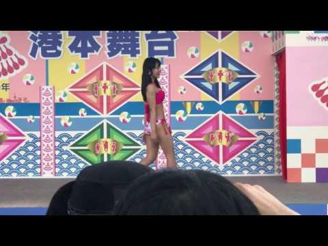 アイドル水着ファションショー くるーず⚓ 博多どんたく♡港本舞台