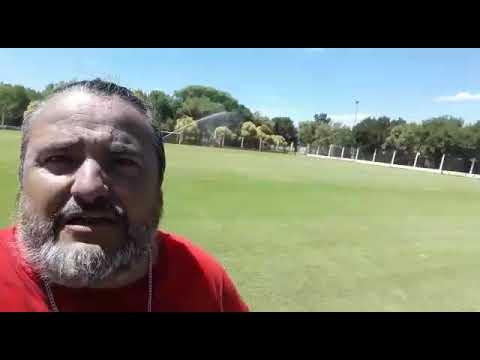 Jesús Martínez desde San Jerónimo - Pre temporada C. A. Libertad