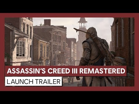 Assassin's Creed III / 3 Remastered Offline with DVD [PC Games]