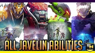 Anthem | All 4 Javelin Abilities: Intrinsic, Offensive, & Support