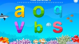 Letter Quiz Alphabet Aquarium Education Games Android Mental Developer Games For Kids