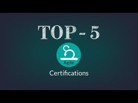 Top 5 Agile Certifications | Best Agile Courses - YouTube