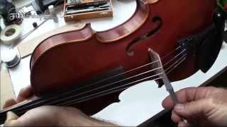 Removing and Setting a Violin or Viola Soundpost