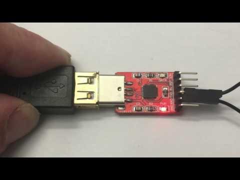 USB-Seriell Adapter Test: Die Prüfschleife