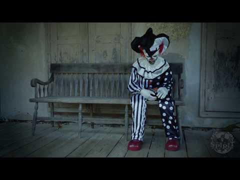 Sitting Scare Clown - Spirit Halloween