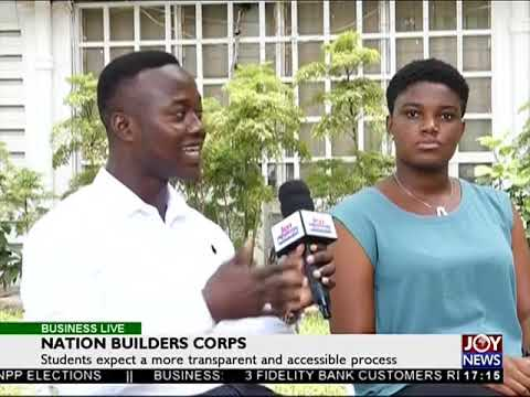 Graduate Employment Creation - Business Live on JoyNews (23-4-18)