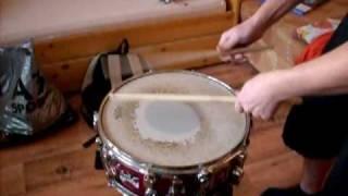 Video Travis Angel Drumming