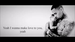 Chris Brown - Make Love Lyrics HD
