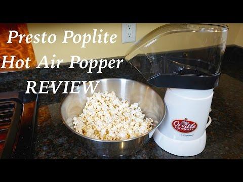 Presto PopLite Hot Air Popper Review