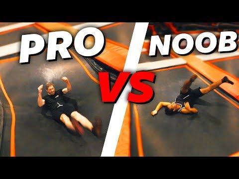 PRO VS BEGINNER GAME OF TRAMP! | Boazvb