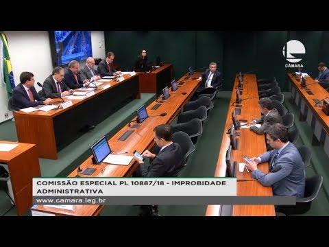 PL 10887/18 - Improbidade administrativa - 02/10/2019 - 15:19