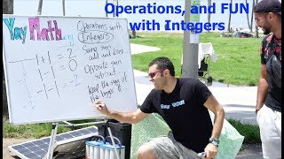Algebra - Operations with Integers