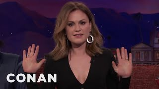 Anna Paquin's CrossFit Nickname  - CONAN on TBS - Video Youtube