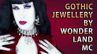 Beautiful Gothic Jewellery By Wonderland MC   Avelina De Moray