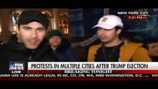 Protester Tells Fox News: Grab Donald Trump By The Pussy!