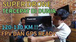 DRONE TERCEPAT DI DUNIA!! REVIEW DRONE RACING WALKERA FURIOUS 320 - Aidy Family